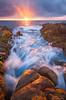 Sunkissed - Yallingup, Western Australia (Luke Austin) Tags: sunset seascape google perth westernaustralia dunsborough yallingup lukeaustin