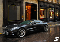 Washed (A.G. Photographe) Tags: paris france rain one nikon martin pluie ag nikkor 77 français hdr aston goutte astonmartin parisian anto photographe xiii parisien humide averse 2470mm28 hdr1raw d700 one77 antoxiii agphotographe