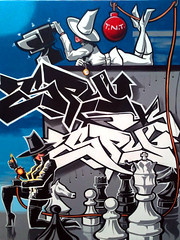 Spy vs Spy (EVL World) Tags: streetart graffiti urbanart graff graffitiartist erni ernivales urbangraffiti 3dgraffiti virtualgraffiti graffitishop graffitistore graffiticreator graffiticreators ernivalesdesigns ernivalesongraffiti graffitiarticles graffitistores graffititip