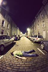 3/366 - Face Down Tuesday #80 (possessed2fisheye) Tags: fisheye aberdeen 366 opteka 60d 3366 canon60d optekafisheye project366 366project facedowntuesday opteka65mmfisheye 65mmfisheye notplanking fisheyefacedowntuesday coldgranit roadsniffing happynewyearsfacedowntuesdayers facedowntuesdayinscotland holidayfacedowntuesday