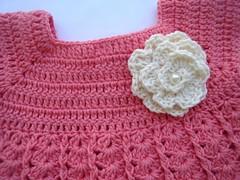 Detalhe vestido infantil (Artes da Jackie2010) Tags: crochet infantil vestido croche croch vestidinho vestidoinfantil