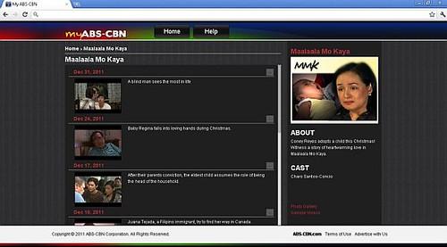 My ABS-CBN_Episode Gallery