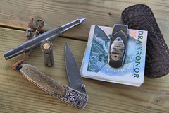 William Henry Studio (Passhh) Tags: pen studio knife william henry titanium moneyclip williamhenry