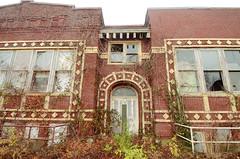 school (jesiiii) Tags: school winter ohio abandoned found decay dirty creepy explore odd exploration urbex