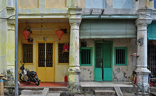 the shophouses of George Town Penang
