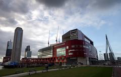 Rotterdam 95 (Wy@rt) Tags: holland netherlands rotterdam theater theatre kopvanzuid paysbas erasmusbrug niederlande zuidholland wilhelminaplein rotterdamzuid rijnhaven posthumalaan nieuweluxortheater pentaxk5 wytzealers sigma816mm