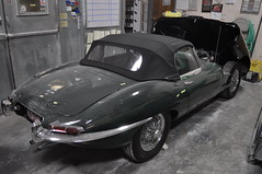 "1966 Jaguar XKE • <a style=""font-size:0.8em;"" href=""http://www.flickr.com/photos/85572005@N00/6704492733/"" target=""_blank"">View on Flickr</a>"