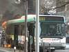 Incendie Paris / Bus 63 Rue des Ecoles le 25 mars 2011 (famille.sebile) Tags: ratp incendie sapeurspompiers bspp brigadedessapeurspompiersdeparis incendieparis feudebus feudebusratp incendiebusbspp