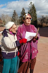 Oh Susanna (suenosdeuomi) Tags: movement singing political rally protest photojournalism social demonstration crop activism raginggrannies occupy occupysantafe occupynewmexico occupyroundhouse