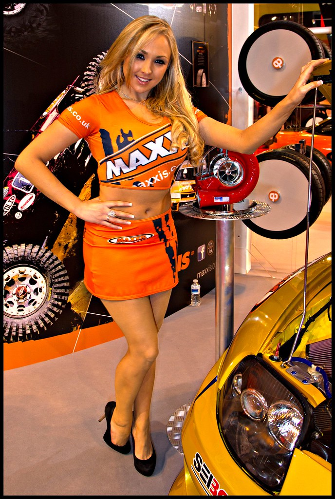 Danni King, Maxxis Babe at Autosport 2012 (LOM Glamour) Tags: sexy ass