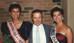 Len with Miss Canada and Miss Metis Alberta