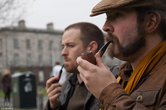 Trinity Gentlemen (II) (JF Sebastian) Tags: ireland portrait dublin friend pipe trinitycollege smoking smoker takenby pipesmoker nikond70s1770 jorgeferrergarca morethan100visits morethan250visits morethan500visits morethan1000visits