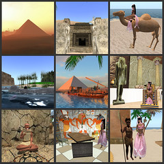 "Architecture and Culture of Ancient Egypt Recreated in ""Second Life"""