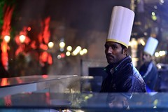 Live cooking (Haseeb K) Tags: pakistan lahore badshahimosque foodstreet fortroad oldlahore