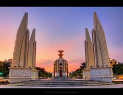 Democracy Monument (Plate 4) | Bangkok