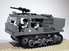 M4 HIGH SPEED TRACTOR (Project Azazel) Tags: usa tractor truck us google tank lego stuart pa american ww2 vehicle chassis custom m2 m4 worldwartwo wwll googleimages usmilitary allied odg legomilitary projectazazel m4highspeedtractor