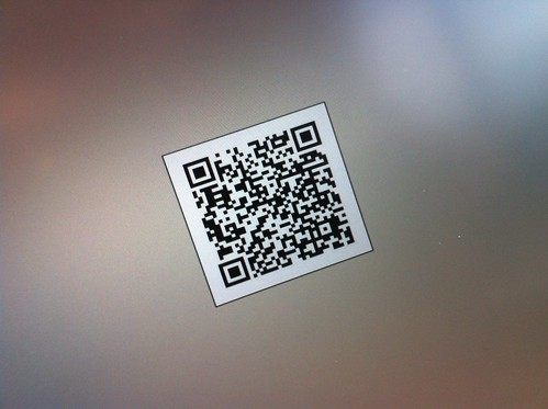 Playing with a QR code