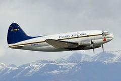 N54514 Everts Air Cargo (Bob Garrard) Tags: air cargo anc commando curtiss everts panc maidinjapan c46d n54514