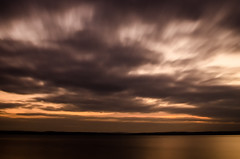 Winter Long (Mark J Hall) Tags: longexposure sky seascape clouds gosport stokesbay nikond7000
