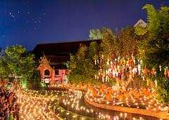 Buddhist New Year (Nomadic Vision Photography) Tags: thailand newyearseve chiangmai travelphotography jonreid thailandculture buddhistculture tinareid httpnomadicvisioncom religeouscelebration