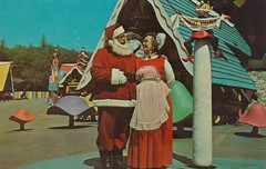 Santa's Village (The Pie Shops Collection) Tags: california santa vintage postcard claus santasvillage skyforest