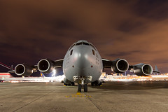 C-17 (Ron Stella) Tags: night aviation tripod c17 boeing globemaster timedexposure