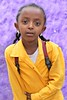 Young Ethiopian School Girl (**El-Len**) Tags: africa school portrait color girl yellow student uniform purple violet ethiopia eastafrica thegalleryoffinephotography