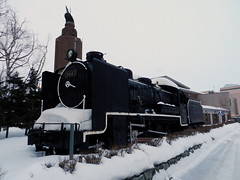 SL 9643 (Matt-san) Tags: winter japan museum japanese sapporo hokkaido display steam disused locomotive retired sapporotrains