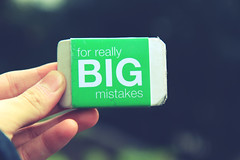 for really BIG mistakes (Avery) Tags: green for big dof bokeh eraser fingers ugly huge grainy really avery mistakes azakelin