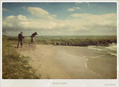 Seascape (macfred64) Tags: seascape vintage memories shoreline thenetherlands retro shore textured ijsselmeer motat vintagetones tatot dutchseascape memoriesofanendlesssummer