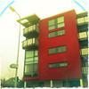 Flats in Rhiwbina (Big*Al*Davies) Tags: city uk red wales bigaldavies cardiff flats iphone hipstamatic