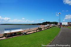 The Promenade (jonnywalker) Tags: sea sky beach southwales wales coast seaside bluesky barry promenade valeofglamorgan barryisland friarspoint