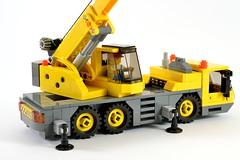 Lego City Crane Mobile Crane Lego Amaryl Tags Lego Moc Legotown Legocity