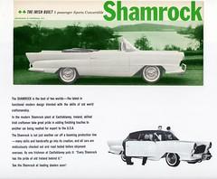 1959 Shamrock (Ireland) (aldenjewell) Tags: ireland irish sports convertible eire brochure shamrock 1959 castleblaney
