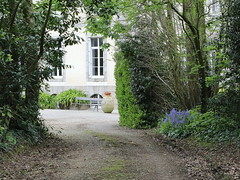 The house at the end of the path (patrick_milan) Tags: trees house way path bretagne zen serenity maison finistre brittani plouguin
