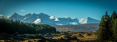 Isle of Skye March Morning (Sormanns) Tags: schnee sky snow mountains skye landscape scotland nikon berge landschaft d7100