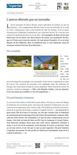 l'impartial jeudi 5 mai page 9 internet