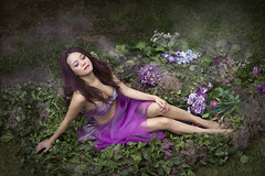 Purple Ribbon - Semi Nude Fashion Model Fantasy Art Photography (Hai Tuoi) Tags: viietnamese viet nam purple ribbon semi nude fashion model fantasy art photography