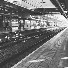 Gautrain #travel (thesheepscribbler) Tags: moon square squareformat iphoneography instagramapp uploaded:by=instagram