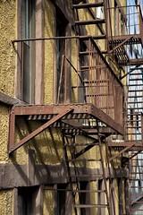 Escape (DeLaPorte_NL) Tags: city newyork fireescape