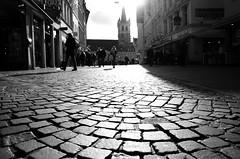Zero (Claudio Taras) Tags: street shadow people bw black nikon strada bokeh persone claudio biancoenero controluce trier taras streetshot contrasto