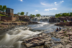 Falls Park, Sioux Falls (explored 2016.05.24) (DonMiller_ToGo) Tags: longexposure nature water southdakota landscape outdoors waterfalls hdr siouxfalls onawalk 3xp slowwater hdrphotography d5500