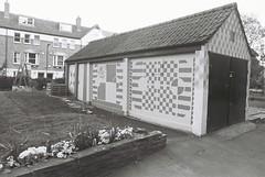 Shoreditch Mortuary (goodfella2459) Tags: white black london history film church st analog 35mm lens jack nikon kodak trix mary crime 400 shoreditch kelly 24mm af nikkor whitechapel milf f4 ripper mortuary leonards f28d