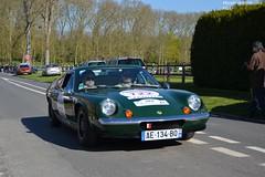 Lotus Europa Twincar 1973 (Monde-Auto) Tags: auto france europa tour lotus course coup verte courances comptition automoto twincar