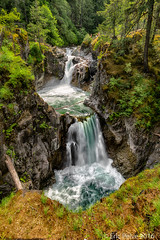 Upper Falls - Little Qualicum Falls Provincial Park (BC) (episa) Tags: canada britishcolumbia vancouverisland upperfalls qualicumfalls qualicumpark sonya7rii zeissloxia21mmf28