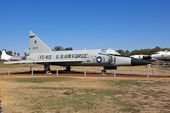 56-1413 F-102A Delta Dagger - Preserved - Castle Air Museum, CA (David Skeggs) Tags: castle museum aircraft aeroplane usaf usairforce castleairmuseum usmilitary f102 deltadagger wrecksandrelics davidskeggs