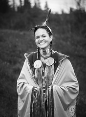Alberta Beauty (davebrosha) Tags: portrait dancing native culture environmental dancer alberta portraiture fancy aboriginal cultural powwow grandeprairie davebroshaphotography