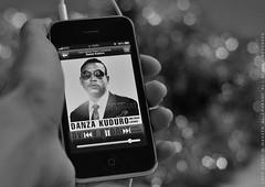 I ♥ my songs (нaкUиa мaтaтa ●●) Tags: bw music don omar iphone