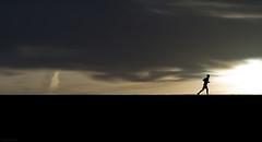 the running man (Jon Downs) Tags: park uk england sky cloud brown sun white man black color colour art colors clouds digital canon downs photography eos grey dawn photo jon flickr artist colours photographer exercise image united hill gray cream picture kingdom pic running run trainers nike ridge photograph converse 7d asics milton keynes jogging fitness campbell jog brooks runningshoes saucony reebok mizuno runningman stevenking paulmichaelglaser joggingshoes jondowns