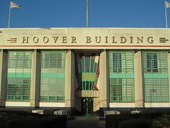 UK - London - Perivale - Entrance to Hoover Building (JulesFoto) Tags: uk england london tesco artdeco ramblers perivale hooverbuilding capitalring londonboroughofealing londonstrollers